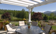 Legacy Homes (Sequim, Washington) custom design patio