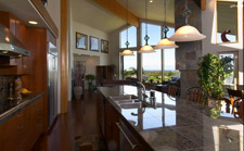 Legacy Homes (Sequim, Washington) custom design kitchen