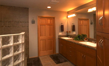 Legacy Homes custom design bathroom